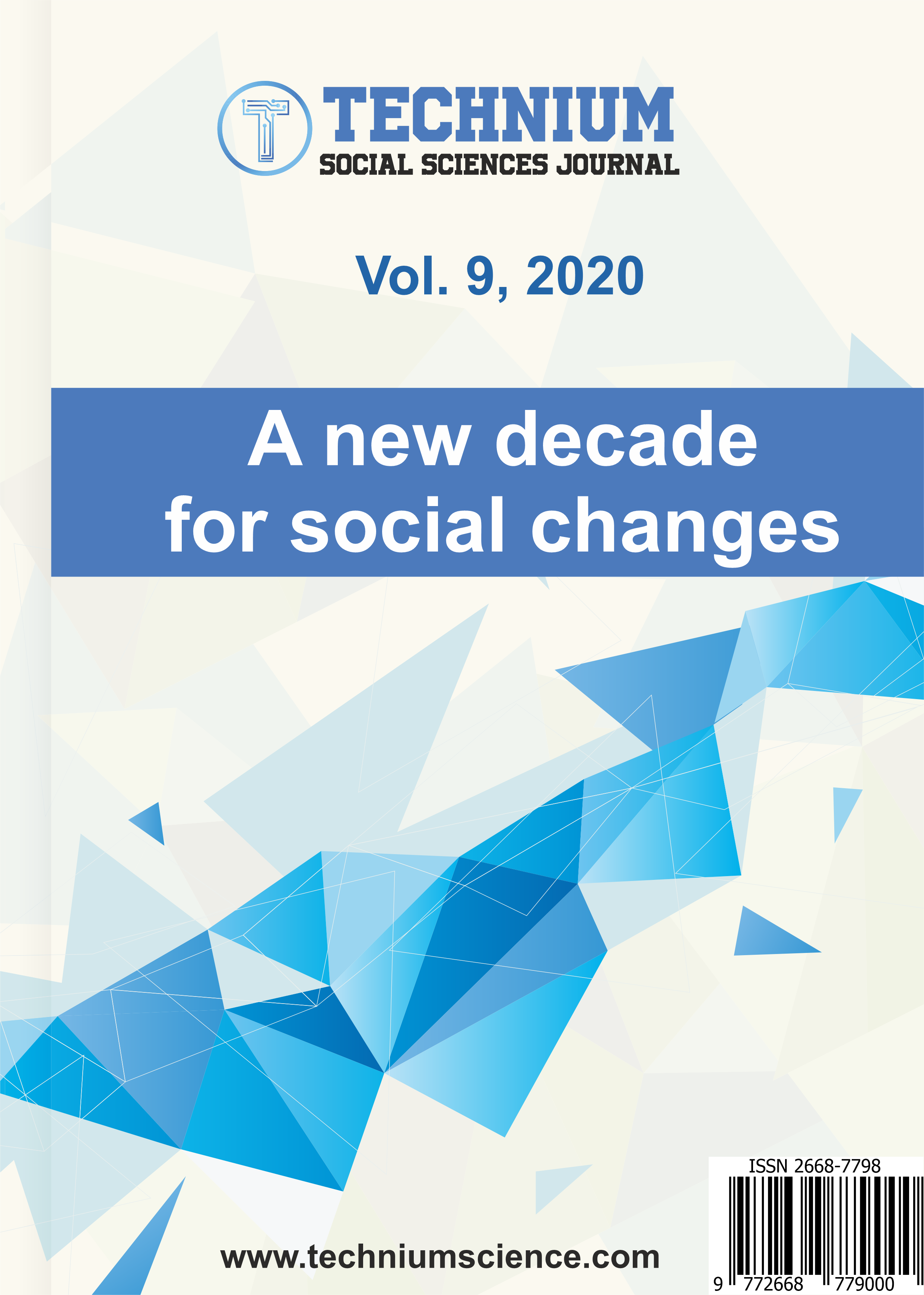 View Vol. 9 (2020): A new decade for social changes