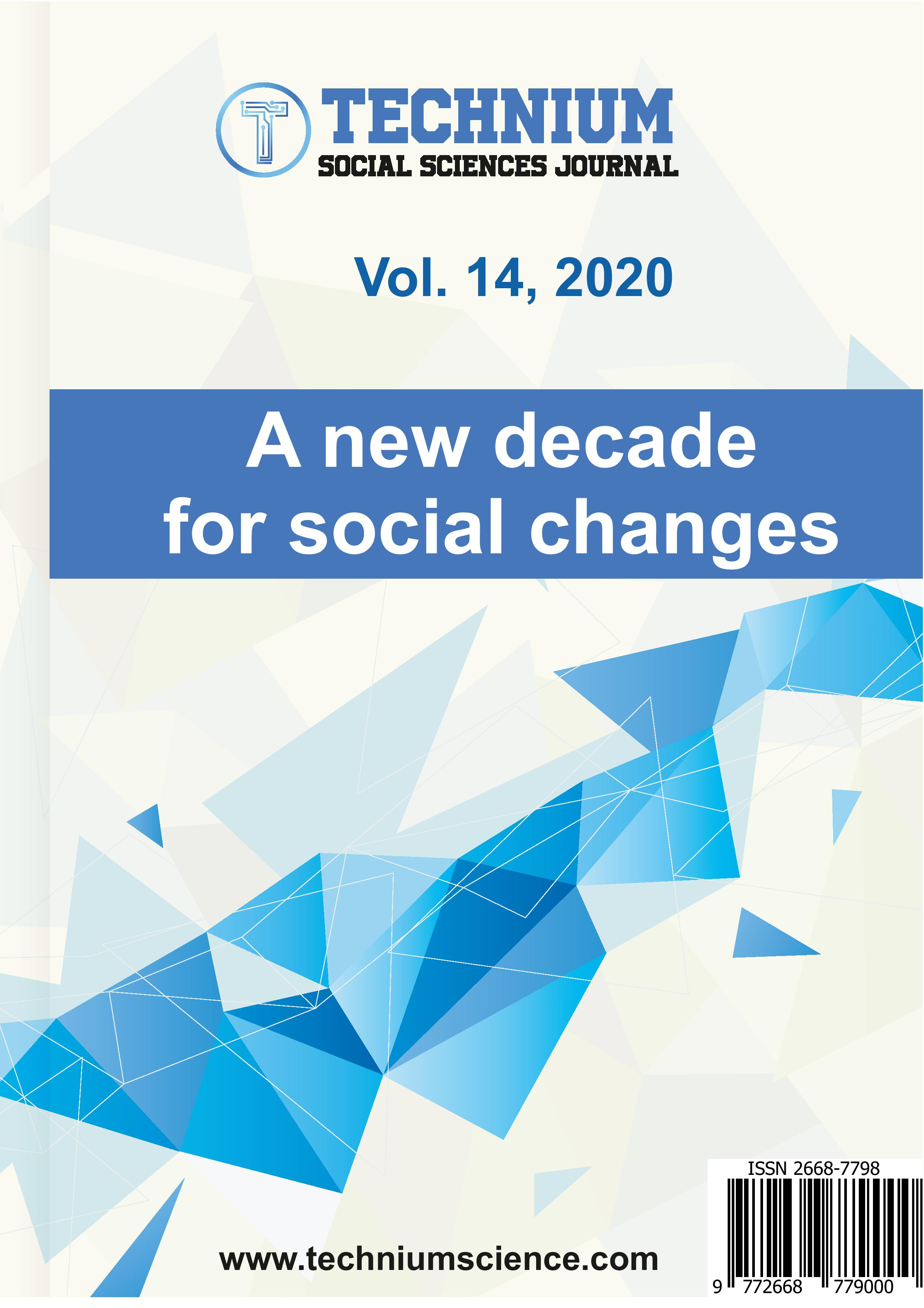 View Vol. 14 (2020): A new decade for social changes