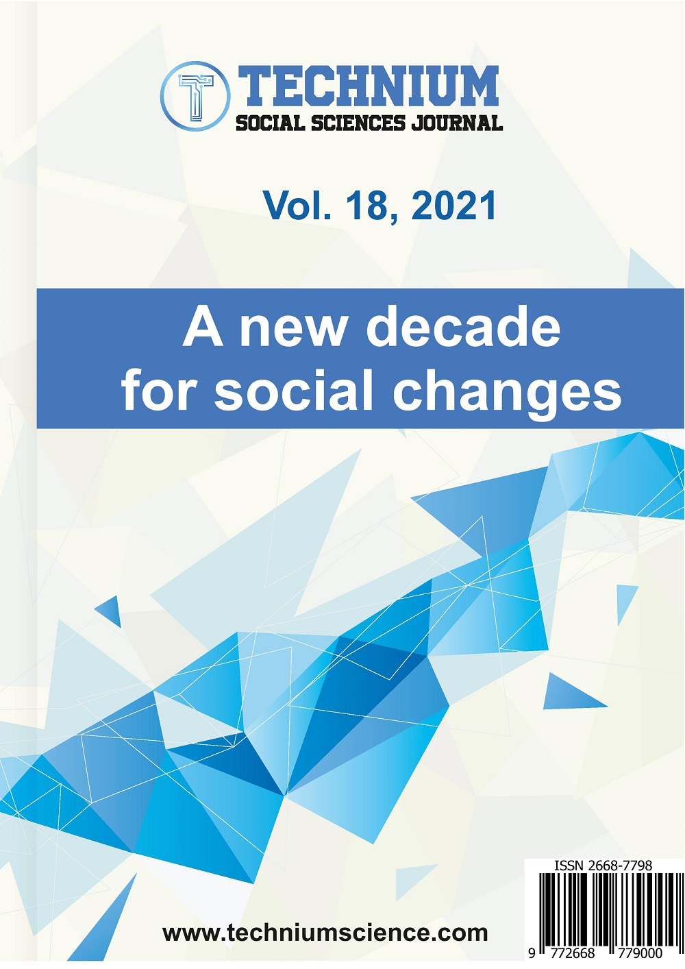 View Vol. 18 (2021): A new decade for social changes