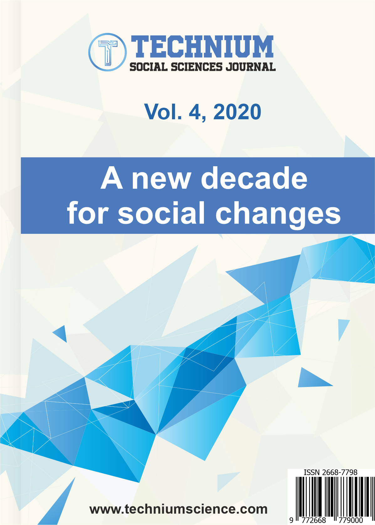 View Vol. 4 (2020): A new decade for social changes