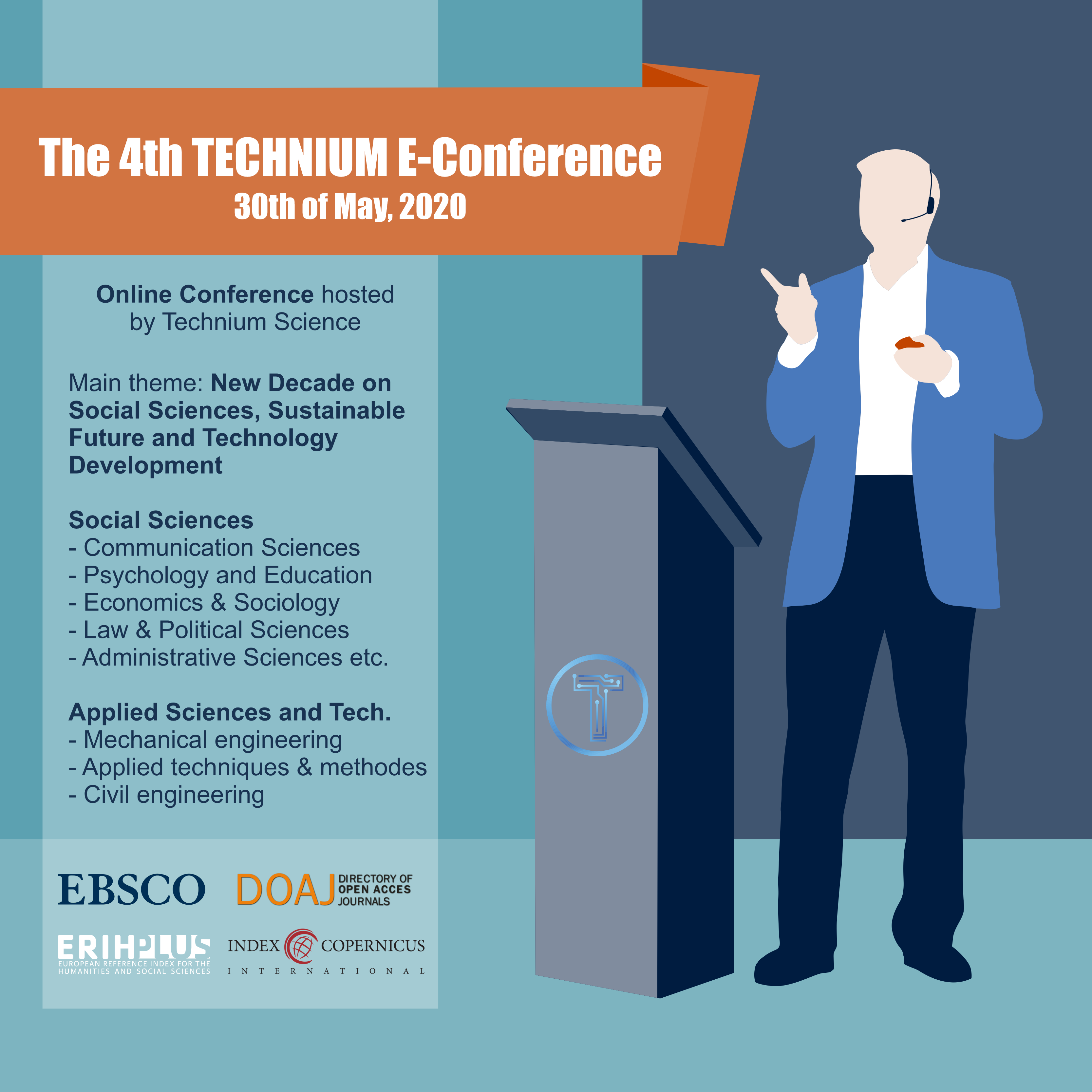 View Vol. 4 (2020): The 4th TECHNIUM International Conference